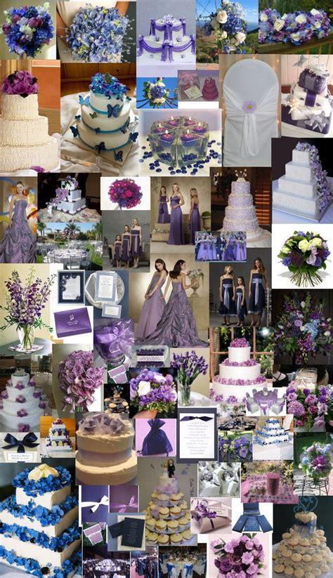 132 blue purple wedding theme images pinterest weddings