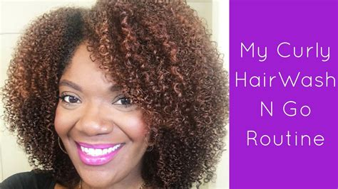 curly hair wash routine youtube