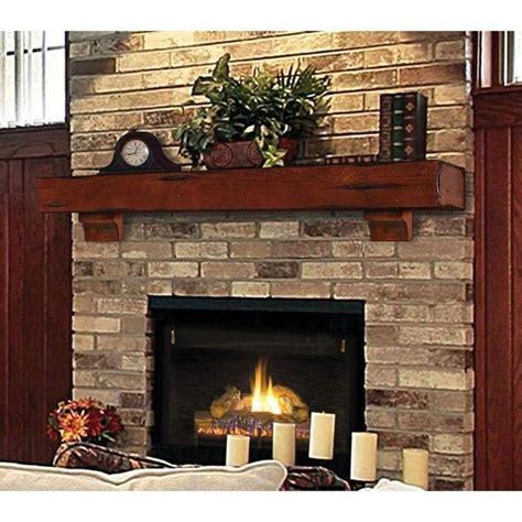mantle wood beam 72 cherry rustic fireplace mantel
