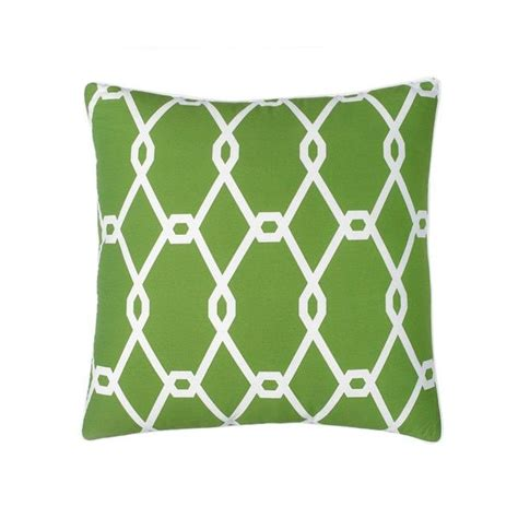 jill rosenwald chain link square decorative pillow overstock