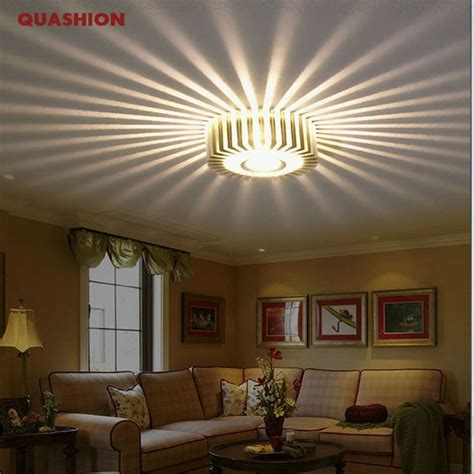 creative led ceiling light fixtures modern indoor colorful