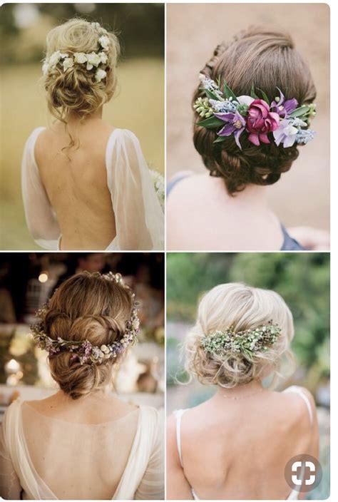 flowers hair wedding headpiece mother bride