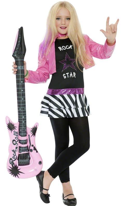 rock star costume girls