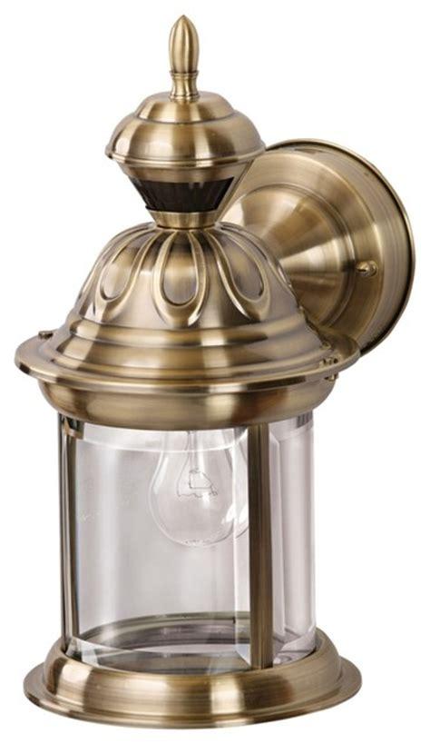 country cottage bridgeport antique brass motion sensor outdoor