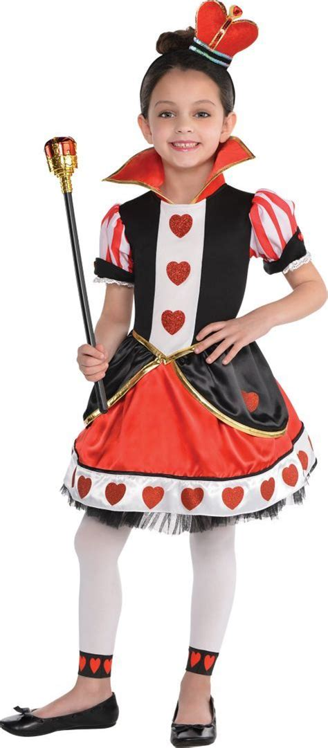 toddler girls queen hearts costume party city stuff