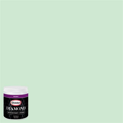glidden diamond 8 oz hdgg55d mint green eggshell