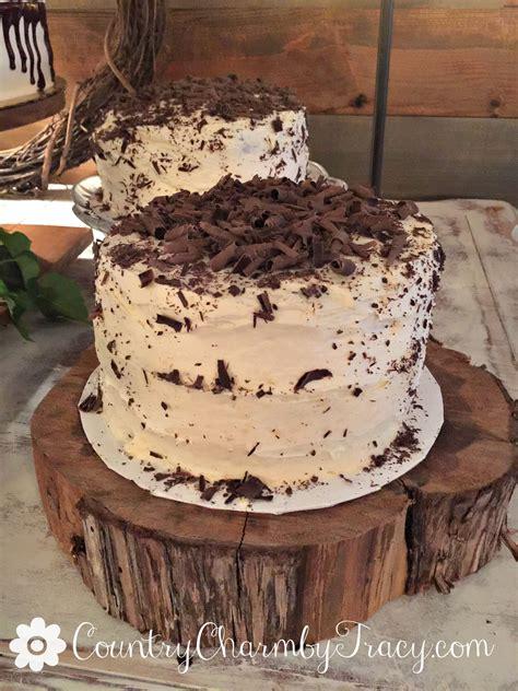 3 layer chocolate cake homemade white chocolate frosting