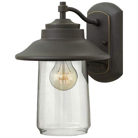hinkley vapor 14 high bronze outdoor wall light