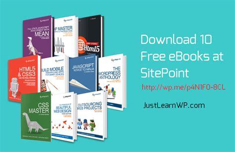 50 free web design books download learn html
