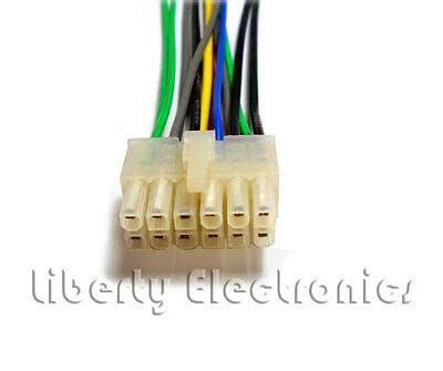 pioneer wire wiring harness 14 pin deh 43dh