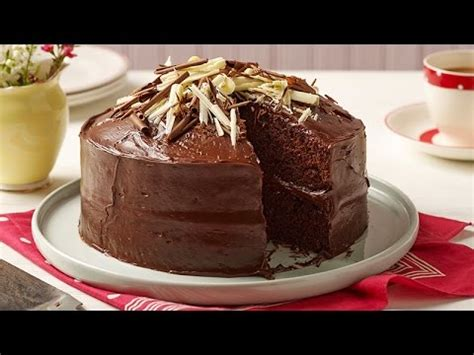 easy chocolate fudge cake recipe betty crocker youtube