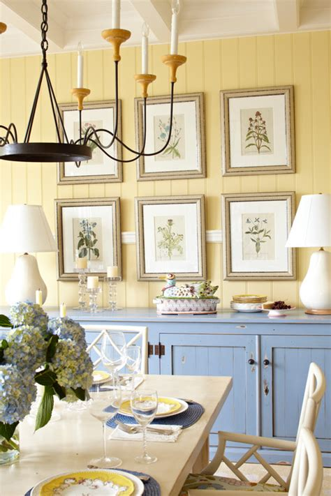 decorating blue yellow dining room dining room design