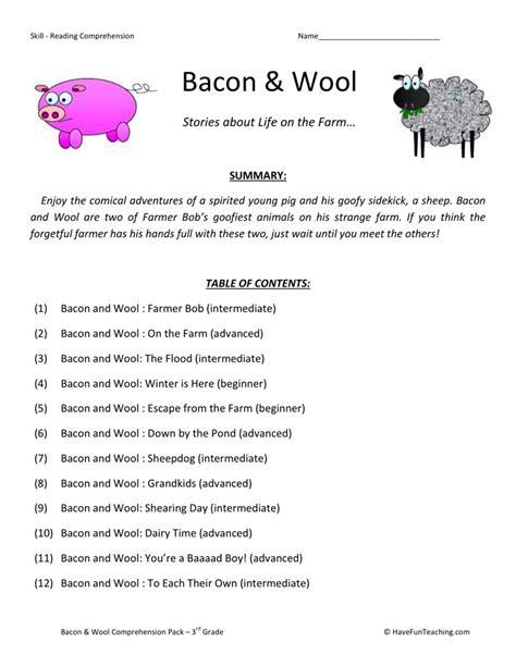 Comprehension Worksheets For 3rd Grade 3rd Grade Worksheets Comprehension Reading.html