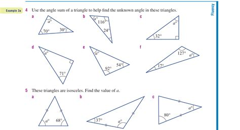year 9 interior angles practice work patel maths