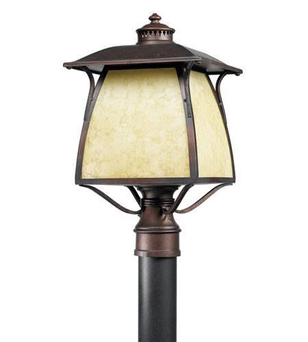 quoizel lighting cozy cottage 1 light outdoor post