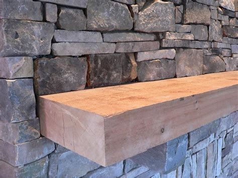 Rough Cut Cedar Mantels