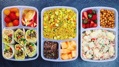 vegan school lunch ideas 3 healthy easy delicious
