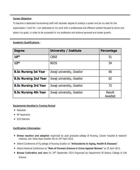 19 fresher resume templates doc free premium templates