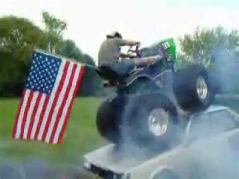 monster lawnmower youtube