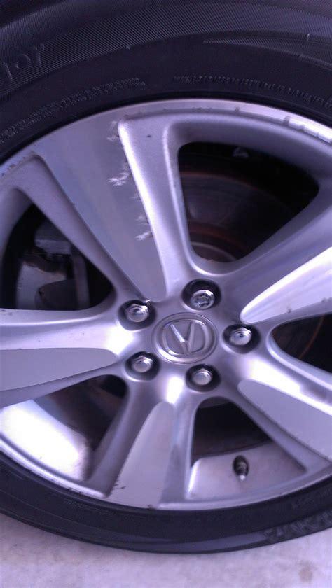 2010 mdx mag wheel corrosion acura mdx forum