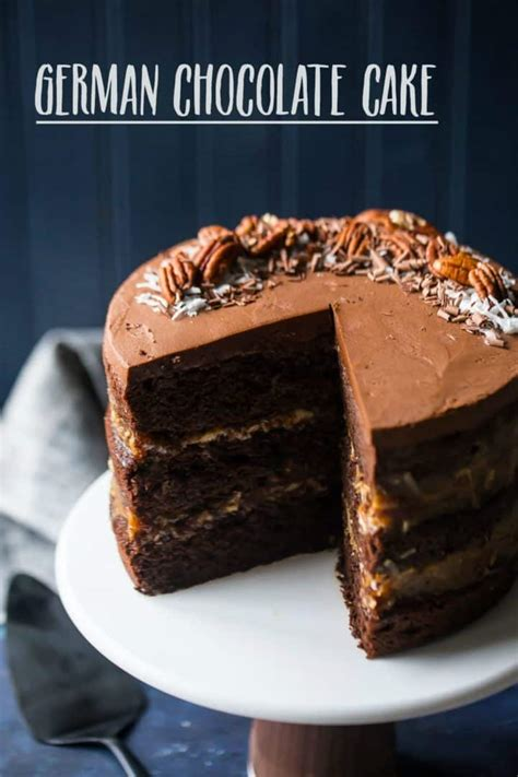 german chocolate cake baking moment