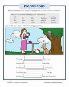 grade 2 grammar lesson 16 prepositions تعلم الإنجليزية