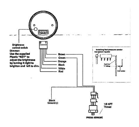 install dual color digital exhaust gas temp gauge