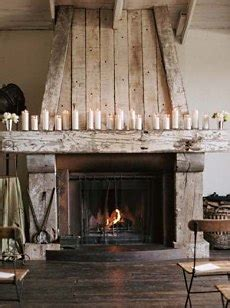 wood fireplace mantel surrounds rustic country