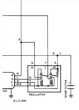80 pickup alternator 3 wire plug wires yotatech