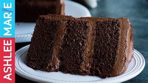 perfect chocolate cake rich dense moist cake recipe