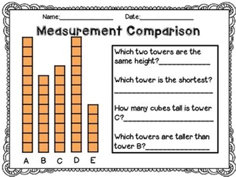 measurement worksheets standard units parkhurst tpt