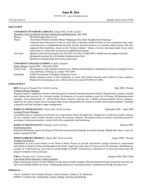 7 law school resume templates prepping resume law
