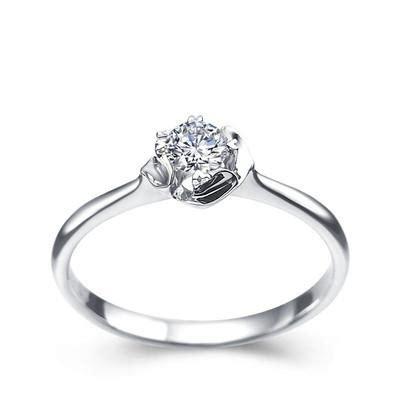 2017 real diamond wedding engagement ring valentine day