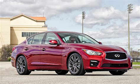 2016 infiniti q50 red sport 400 review autoevolution