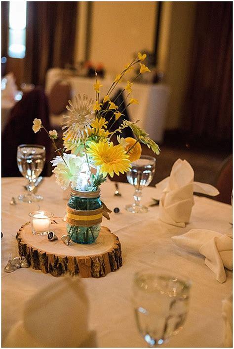 blue yellow lodge wedding orange wedding themes lodge