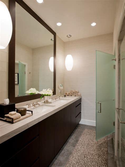 framed bathroom mirror design ideas remodel pictures houzz