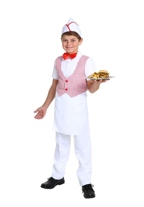50s car hop costume boys