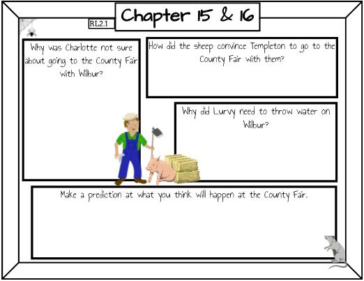 Charlottes Web Chapter 11