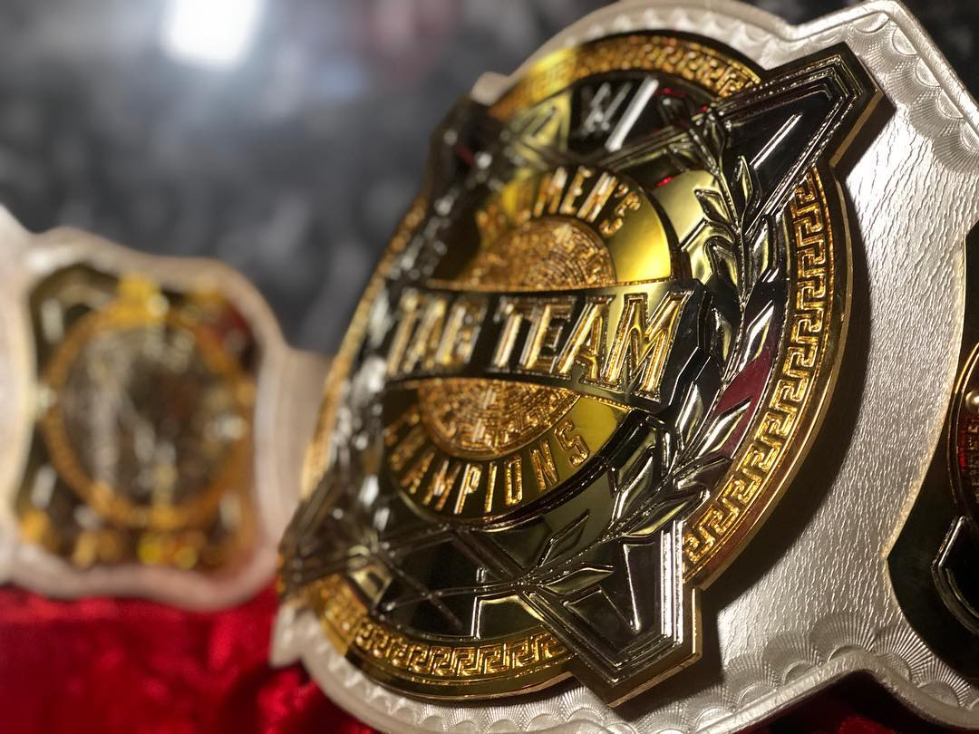 WWE Women's Tag Team Championships Unveiled - TSJ101 Sports!