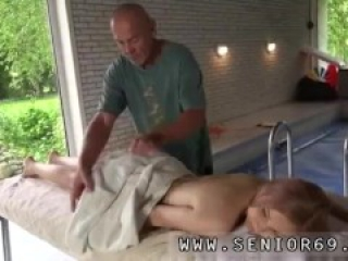 Old old granny anal xxx Emily Rose needs to loosen and goes to the spa to