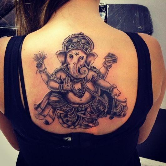 ganesha tattoo for men - 600×450