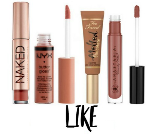 Faced Too Chocolate Lipstick Melted Honey