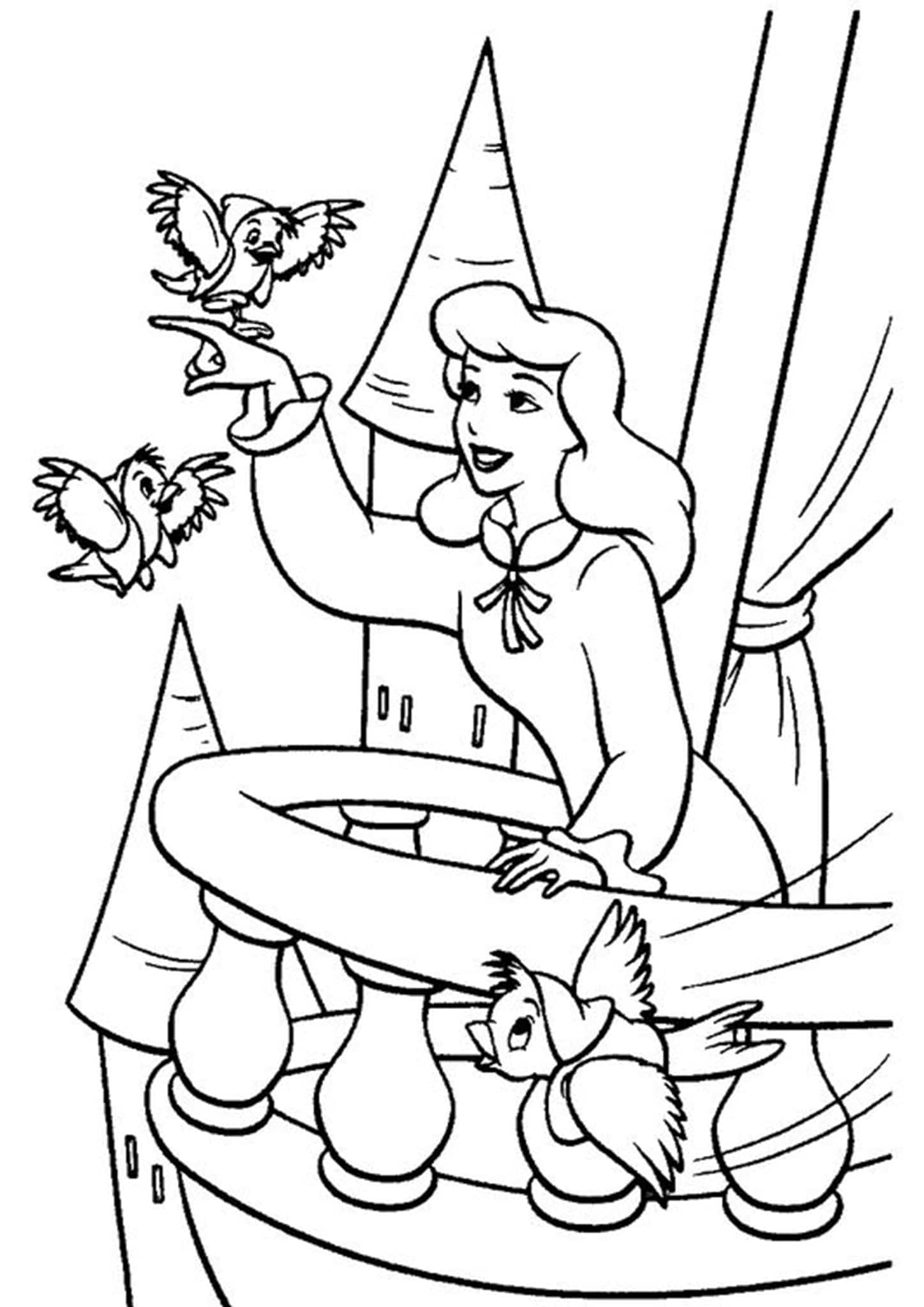 Big Printable Color Number Coloring Pages