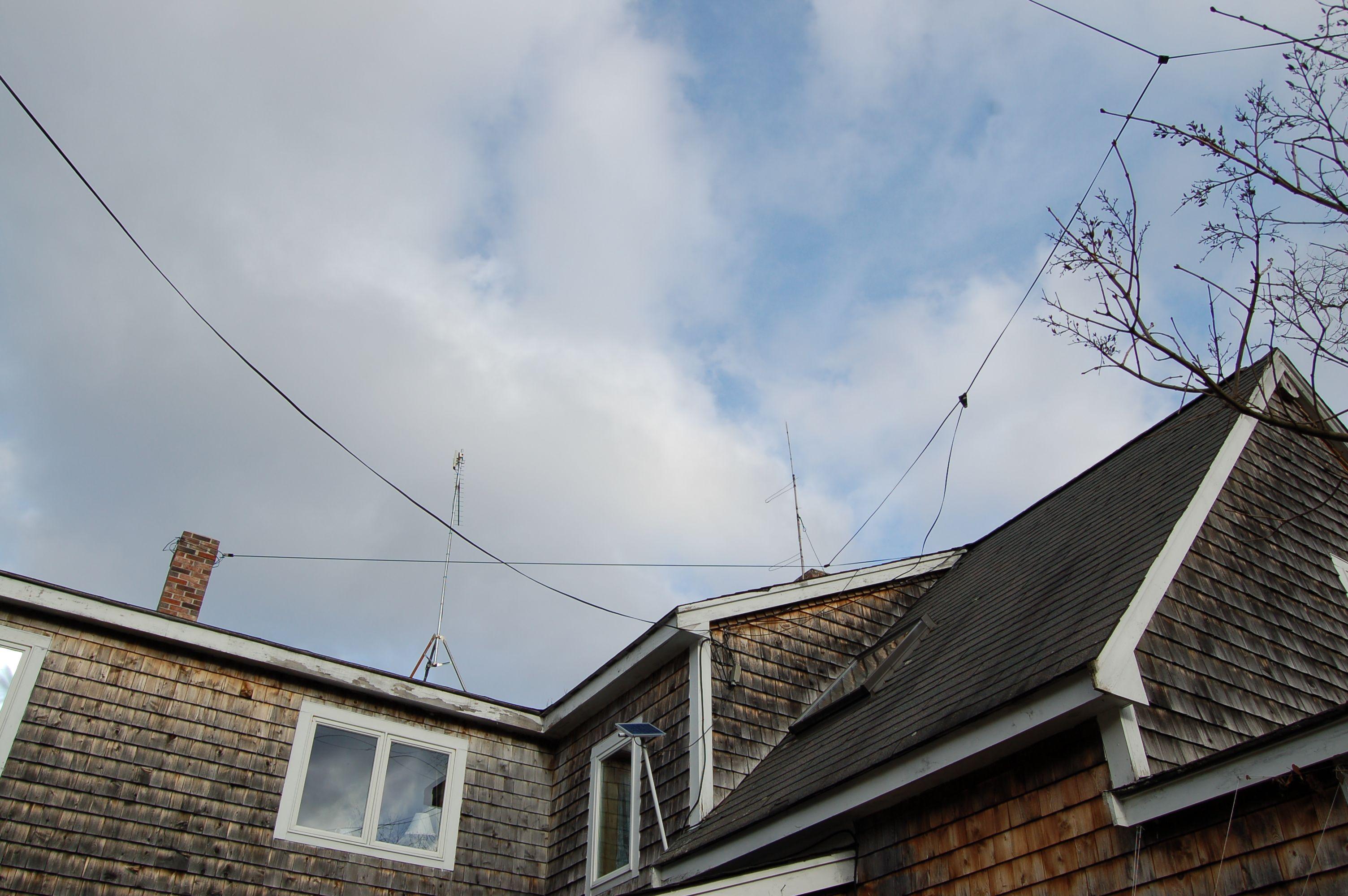 Half Fed Wave End Antenna Hf