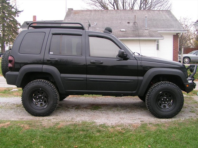 2004 Jeep Liberty 3 Inch Lift