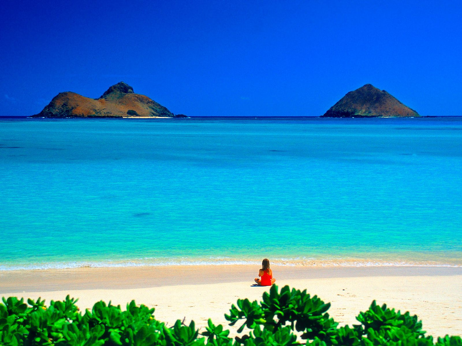 Kailua Hawaii Beach Desktop Wallpaper