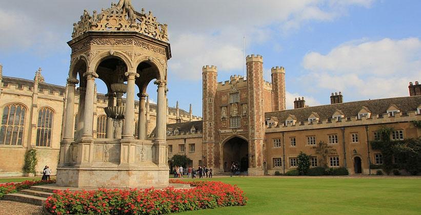 Trinity College em Cambridge