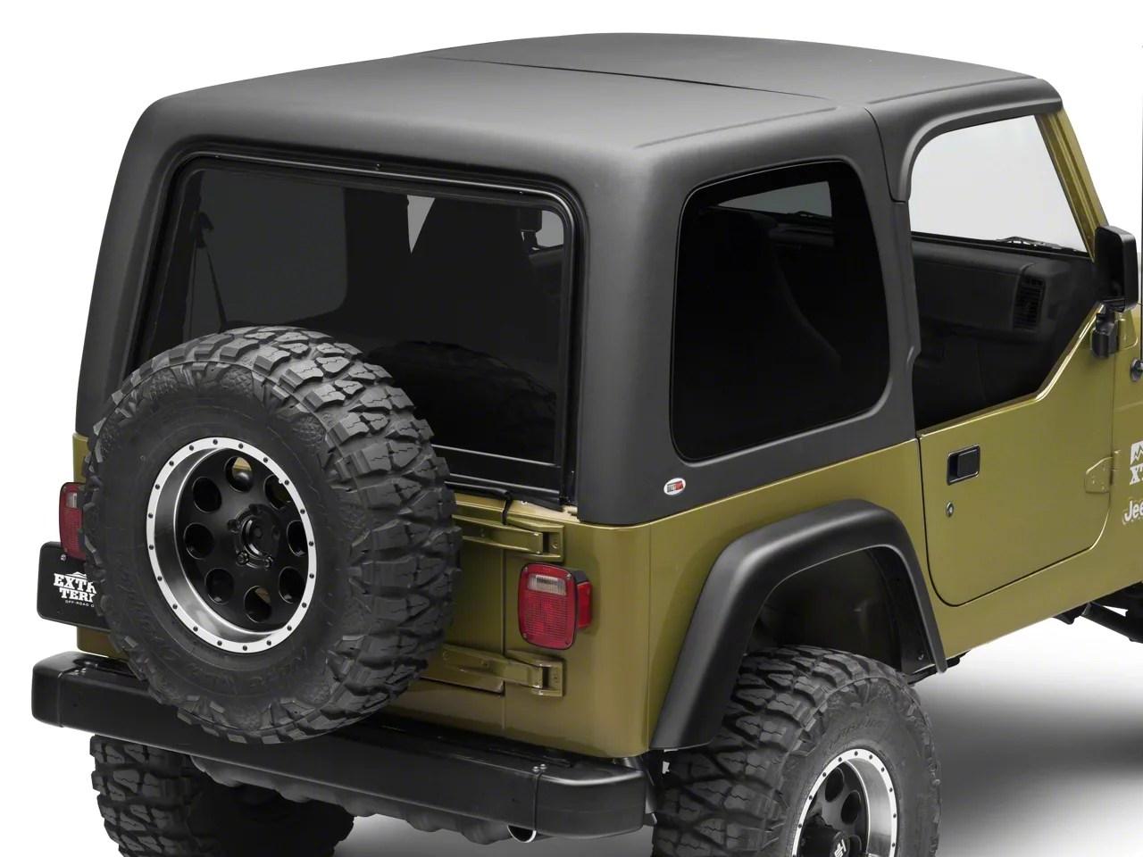 Top Half Wrangler Tj Hard Jeep