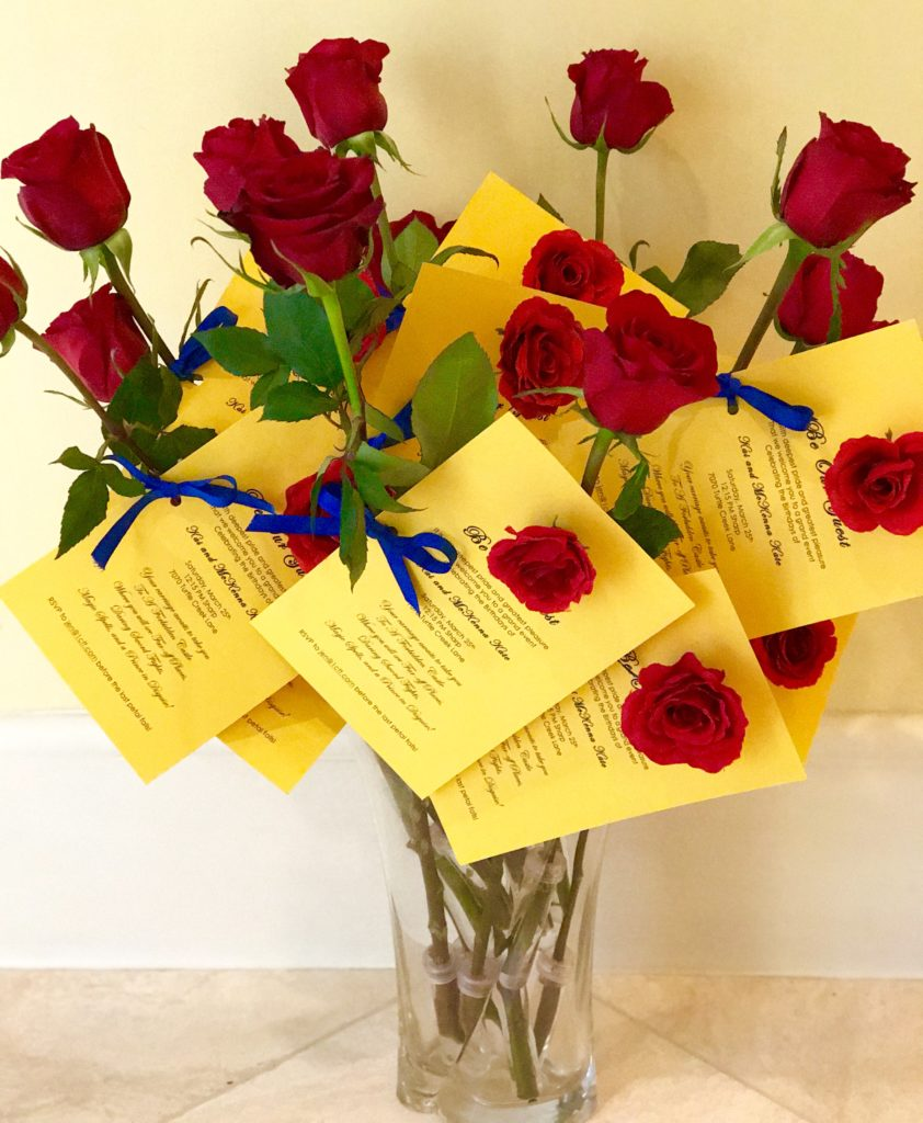 Yellow Bridal Shower Invitations