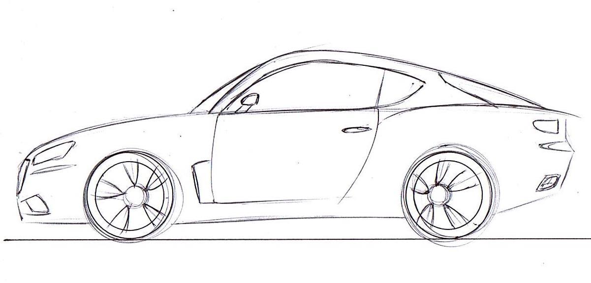Dibujos Carros Deportivos De Para Colorear
